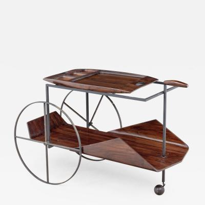 Jorge Zalszupin Tea trolley