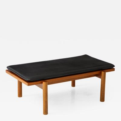 Jorgen Bo Teak and Leather Day Bed by Jorgen Bo