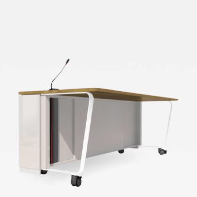 Jos Mart nez Medina Plexy Folding Movable Conference Table by Jos Mart nez Medina for JMM