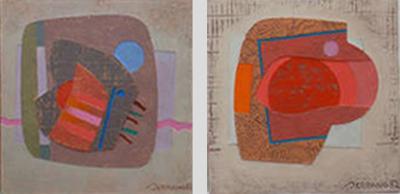 Jose Luis Serrano Abstract Paintings by Jose Luis Serrano
