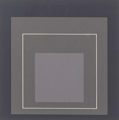 Josef Albers Homage to the Square Serigraph by Josef Albers