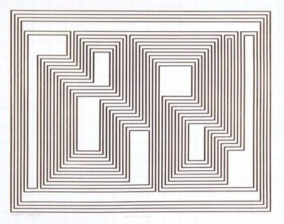 Josef Albers Prefatio from the Graphic Tectonics Series