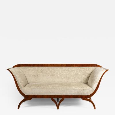 Josef Danhauser An Exceptional Biedermeier Sofa