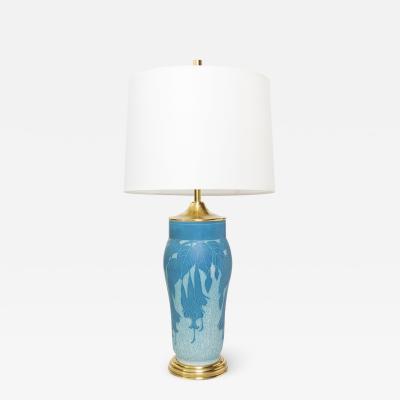Josef Ekberg SCANDINAVIAN MODERN SCRAFFITO LAMP BY JOSEF EKBERG Gustavsberg Sweden