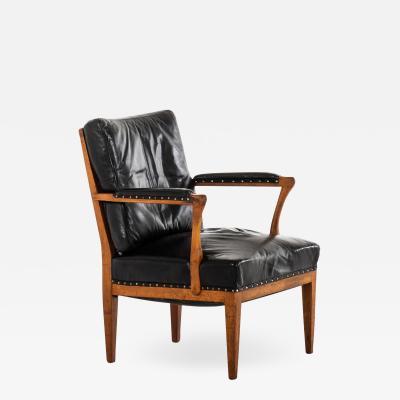 Josef Frank Armchair Easy Chair Model 868 Produced by Svenskt Tenn