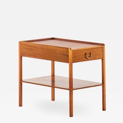 Josef Frank Bedside Side Table Produced by Svenskt Tenn