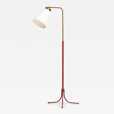 Josef Frank Floor Lamp Model 1842 Produced by Svenskt Tenn