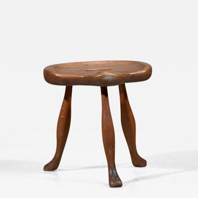Josef Frank Josef Frank tripod wooden stool