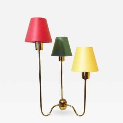 Josef Frank Large Three Arm Table Lamp by Josef Frank for Svenskt Tenn