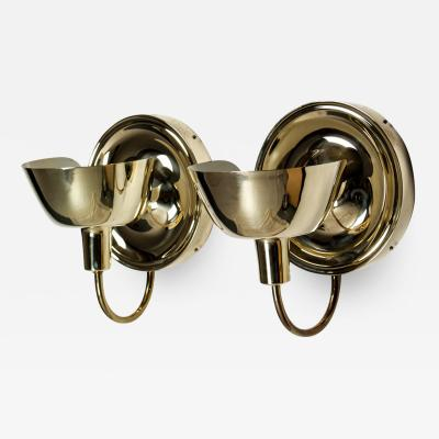 Josef Frank Sconces in Brass by Josef Frank for Svenskt Tenn