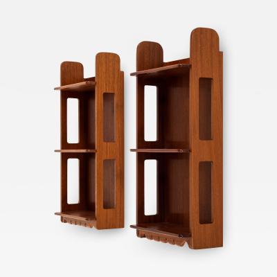 Josef Frank Wallhanged Bookshelves Produced by Svenskt Tenn in Sweden