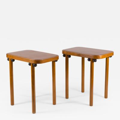 Josef Hoffmann Josef Hoffmann 1905 Pair of Josef Hoffmann Side Tables