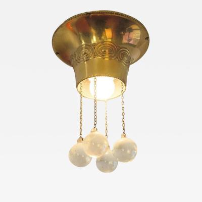 Josef Hoffmann Josef Hoffmann 1905 Plafonier Flush Mount Lamp