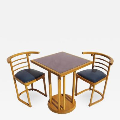 Josef Hoffmann Josef Hoffmann Fledermaus Cafe Dining Set for Thonet