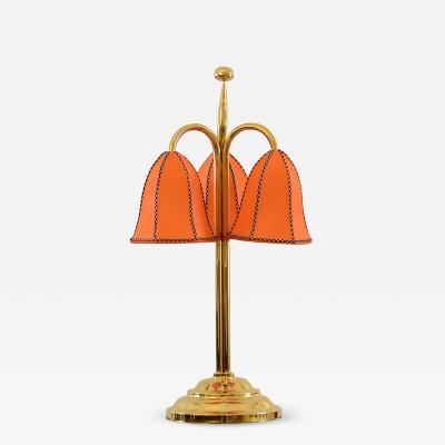 Josef Hoffmann Josef Hoffmann Wiener Werkstaette Triflowers Table Lamp 1914 Re Edition