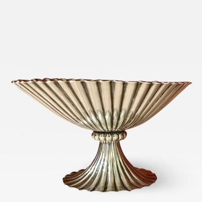 Josef Hoffmann Josef Hoffmann for Wiener Werkstatte Vienna circa 1920 Silver Dish