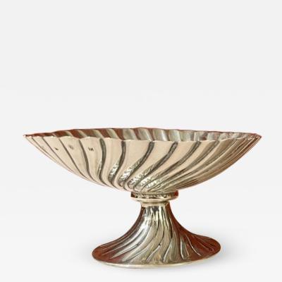Josef Hoffmann Josef Hoffmann for Wiener Werkstatte Vienna circa 1920 Silver Dish Pair