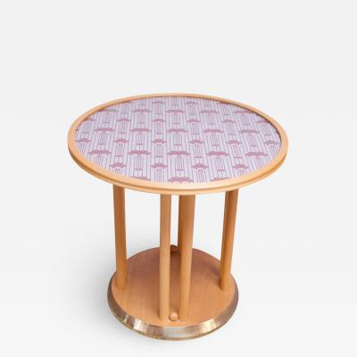 Josef Hoffmann Josef Hoffmann for Wittmann Cabaret Fledermaus Side Table in Beechwood