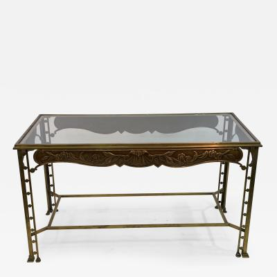 Josef Hoffmann SECESSIONIST ERA ORNATE BRONZE TABLE