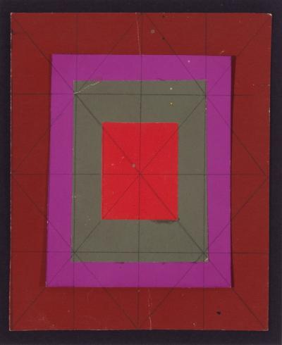 Josef Zenk Concentric Squares