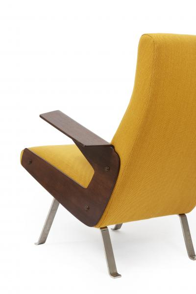 Joseph Andre Motte Rare armchair