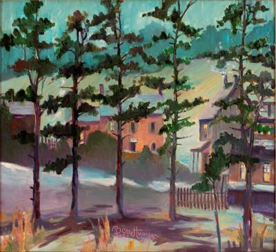 Joseph Barrett Pine Grove Near Pipersville