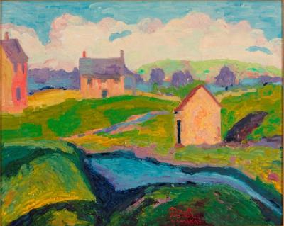 Joseph Barrett Spring Rushland