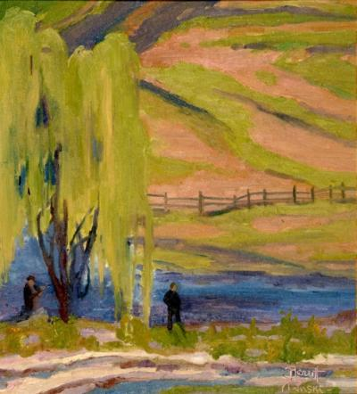 Joseph Barrett Under the Willow