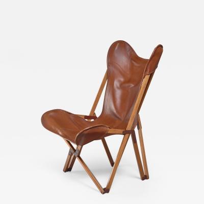 Joseph Beverley Fenby Tripolina Folding Chair Italy 1930s
