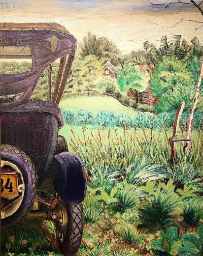 Joseph C Pollet Untitled Woodstock Landscape