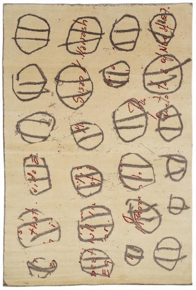 Joseph Carini Contemporary Timothy Paul Myers Art Rug 6 9