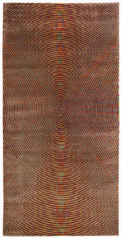 Joseph Carini Contemporary Vibra Silk Area Rug 3 x 6