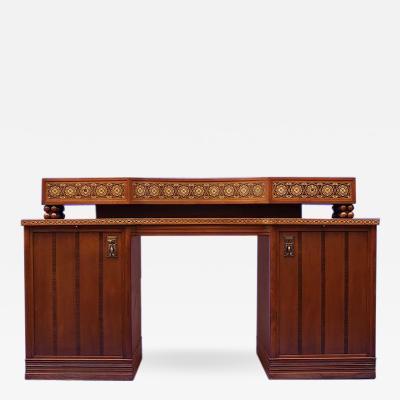 Joseph Maria Olbrich German Jugendstil Desk after Olbrich