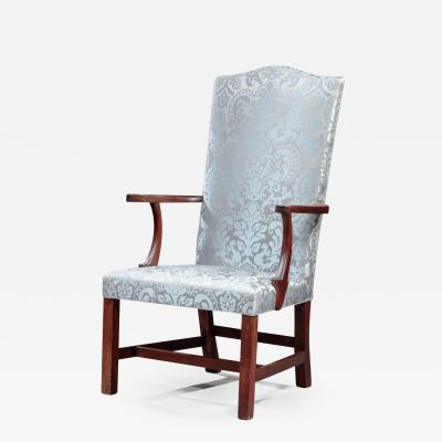 Joseph Short Federal Lolling Chair attributed to Joseph Short