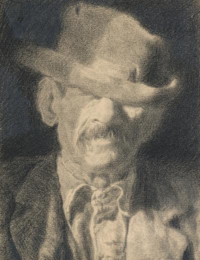Joseph Stella Head of an Old Man III
