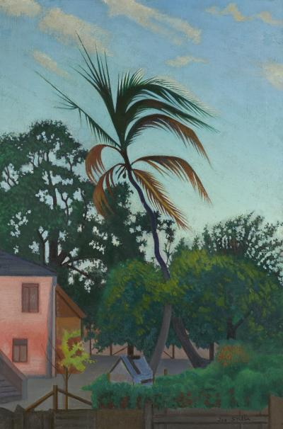 Joseph Stella Palm Tree Barbados