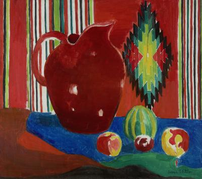 Joseph Stella The Red Pitcher