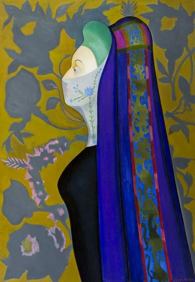 Joseph Stella The Veiled Lady The Persian Lady