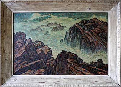 Joseph T Hoar Coastline Oil by Joseph Hoar