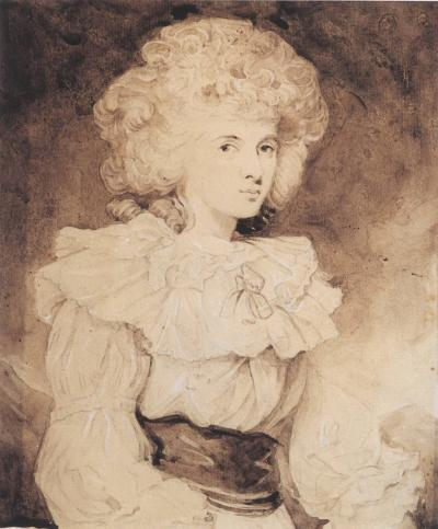 Joshua Reynolds Portrait of Lady Georgiana Spencer later the Duchess of Devonshire