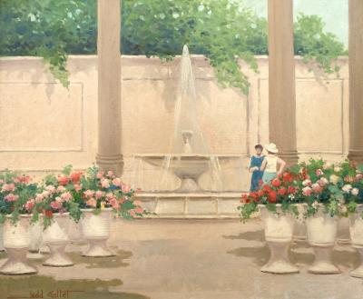 Judd Gallet At the Fountain