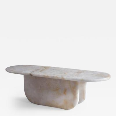 Jude Heslin Di Leo Quartz Crystal Table by Jude Heslin Di Leo