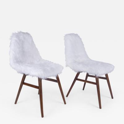 Judit Burian Pair of Erika Chairs from Judit Burian