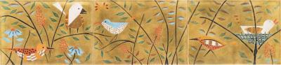 Judith Daner Enamel Decorative Wall Plaque