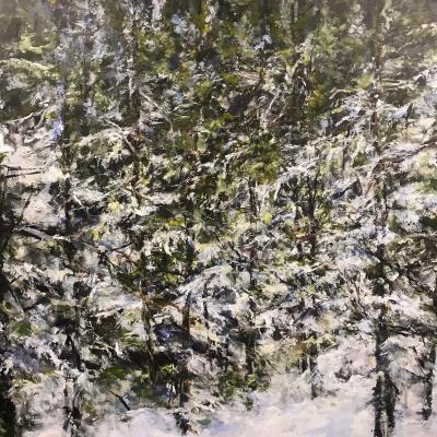 Judy Cheng Winter Trees
