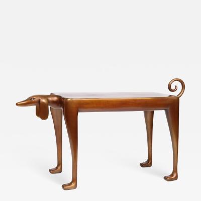 Judy Kensley McKie Beagle Side Table