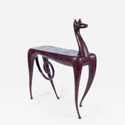 Judy Kensley McKie Horse Side Table
