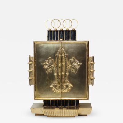 Jugendstil Tabernacle Bronze Ormolu 1910 Austria