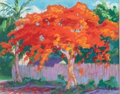 Julee Docking Orange Tree