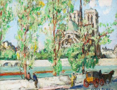 Jules Eugene Pages Notre Dame Paris